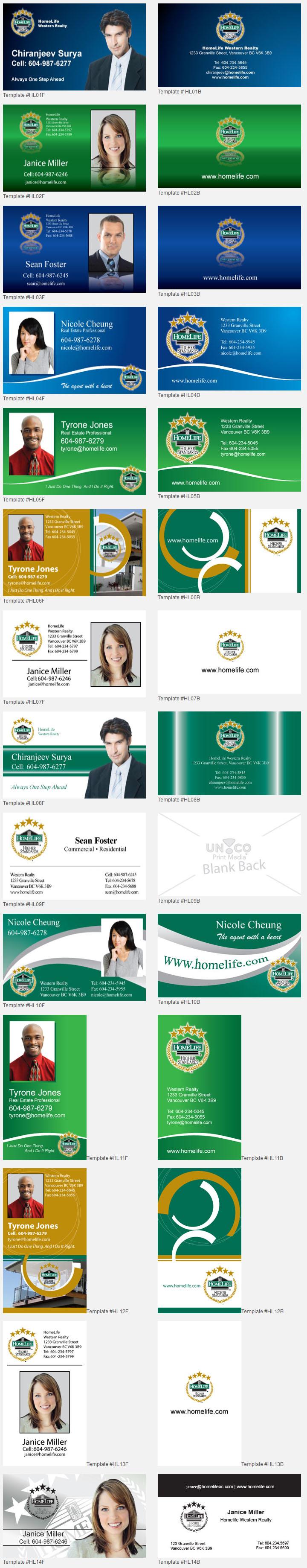 Homelife Design Template Unico Print Media Specialty Marketing