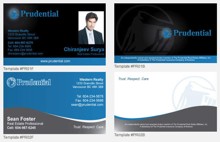 Prudential Design Templates | Unico Print Media | Specialty ...